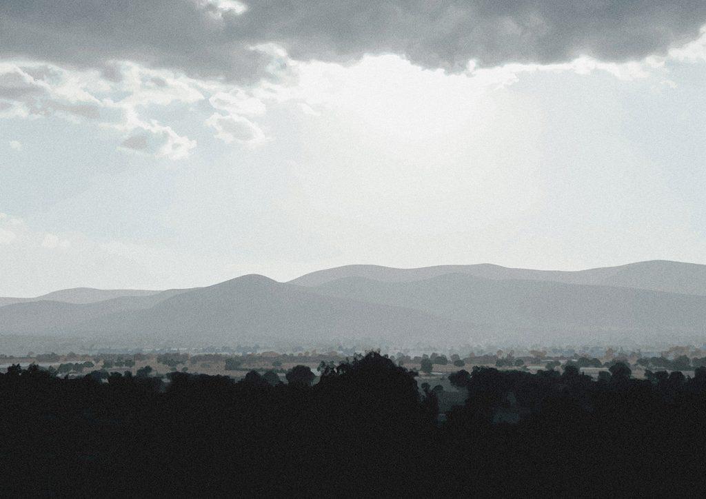 mexico mountains scenery